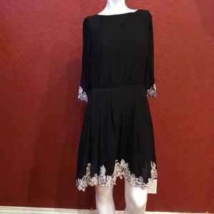 TED BAKER LONDON Fit & Flare Dress Size 2